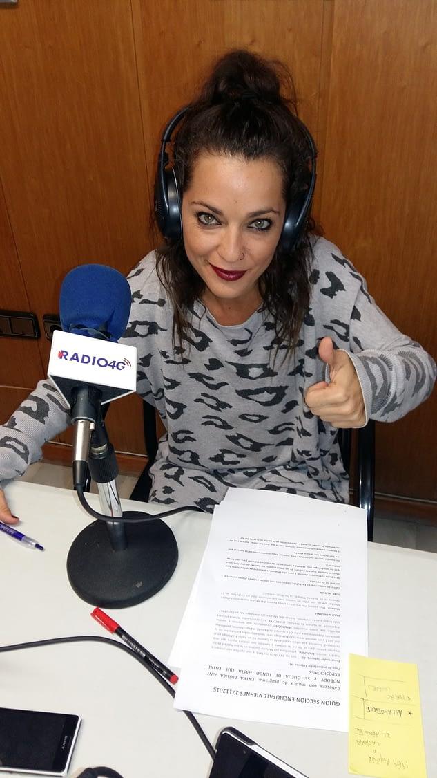 Melania Guijarro presentadora Radio 4G