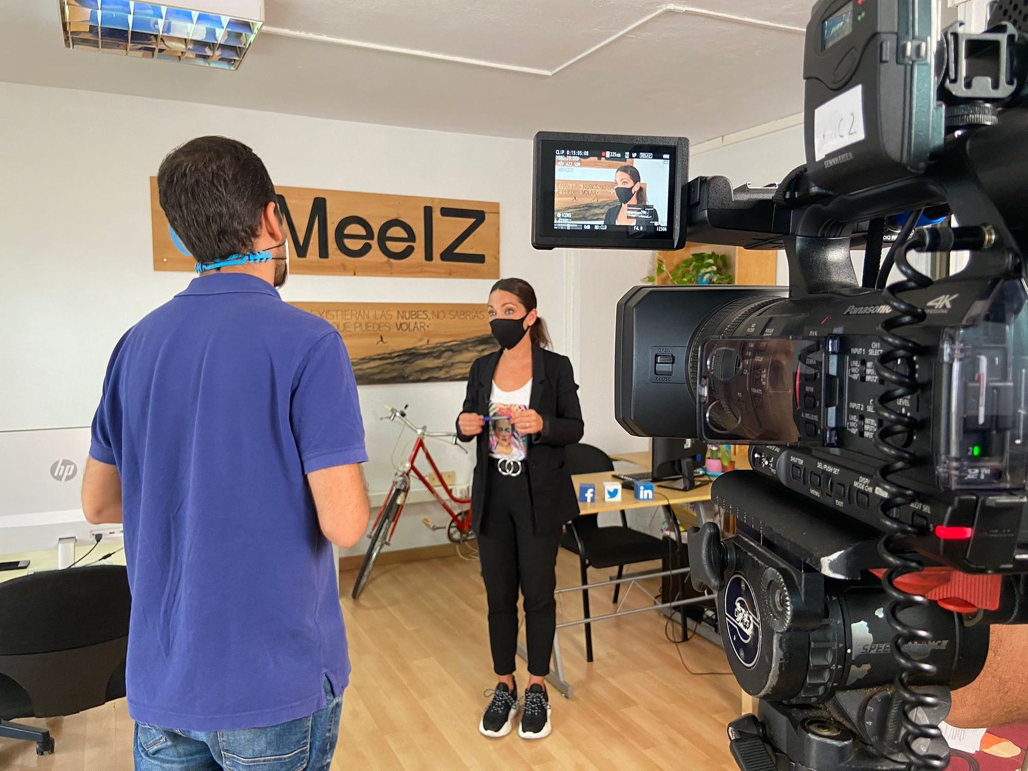 Entrevista Melania Guijarro directora iMeelZ Televisión Canaria RTVC - Agencia
