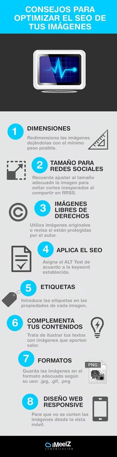 10 SEO para tus imágenes. ¡Fundamental - Consejos para optimizar tus imágenes para SEO