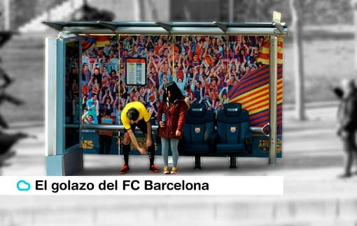 El golazo del FC Barcelona y su nueva acción de Marketing