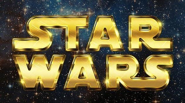 Crear un texto Retro Star Wars con Adobe Photoshop - 20 Tutoriales con Efectos de Photoshop 2015 que no te puedes perder