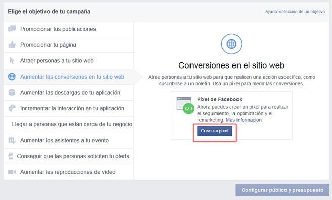 objetivos de Facebook Ads campaña - Cómo crear una campaña publicitaria en Facebook Ads optimizada