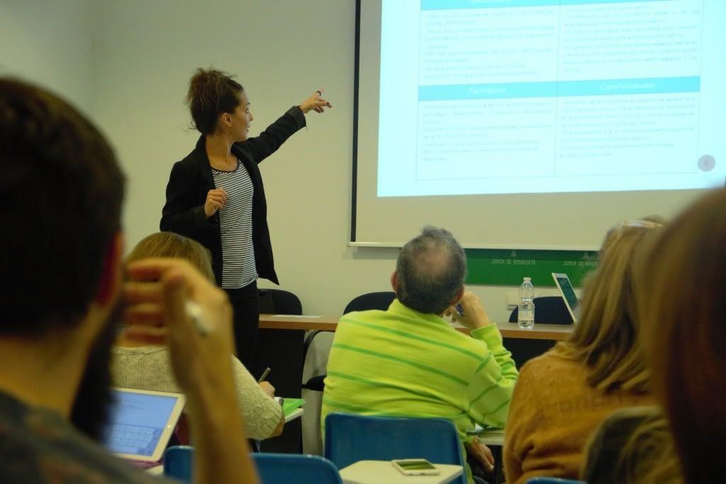 Charla a Emprendedores CADE Málaga 1024x683 - Trabajos