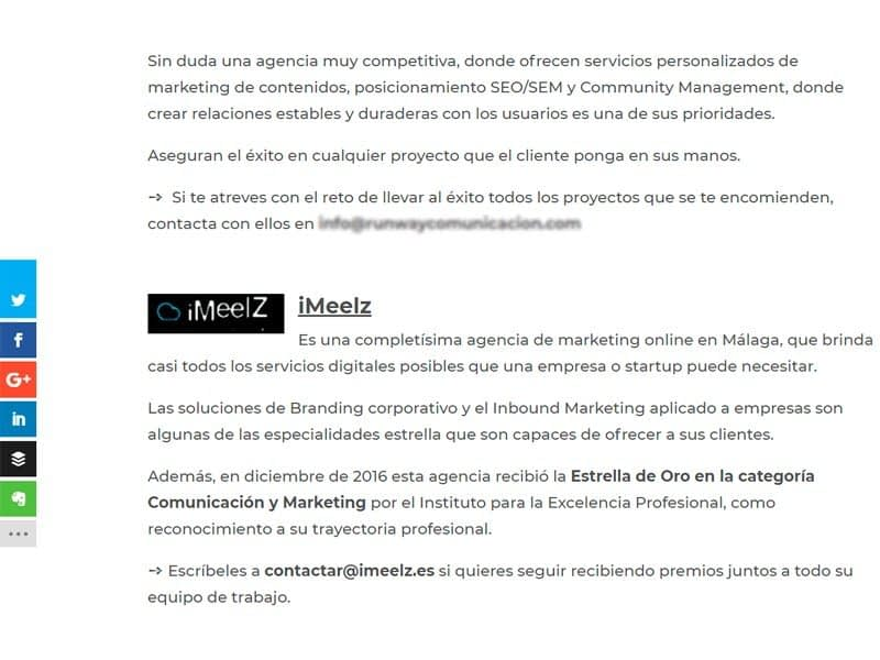 iMeelZ entre los 60 mejores agencias marketing digital ISMAEL RUIZ 2 - Agencia