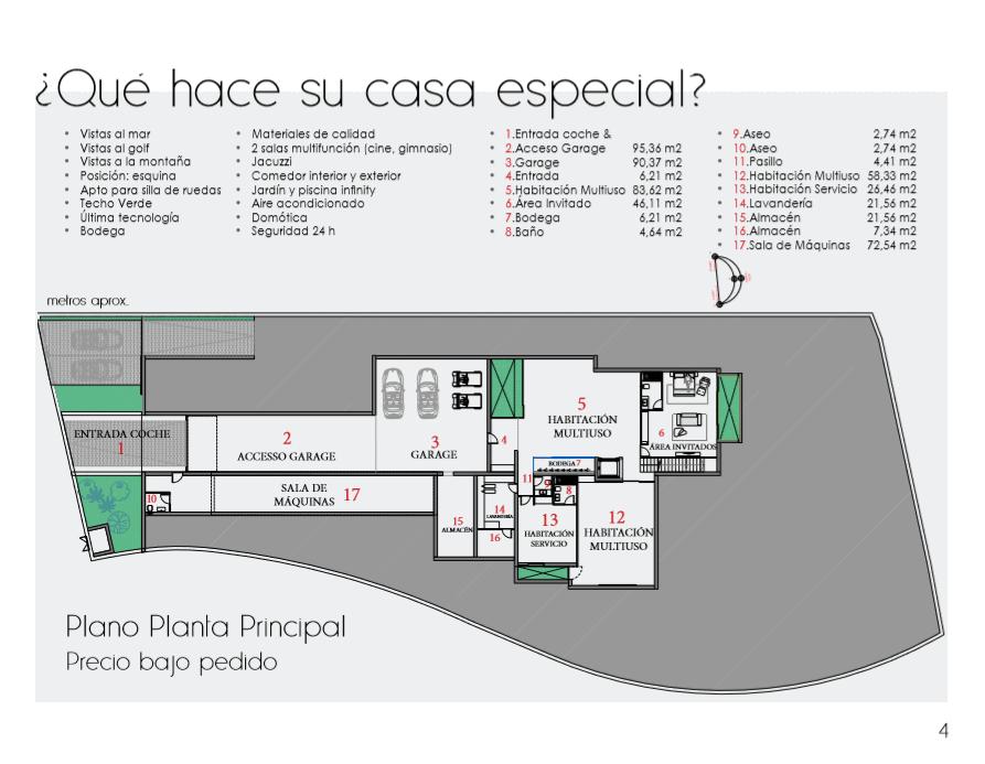 Branding y diseño catálogo Inmobiliaria idioma español iMeeZ - Trabajos