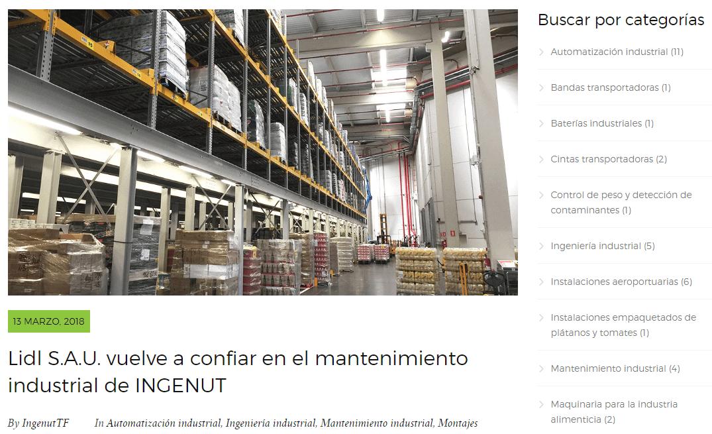 Marketing de Contenidos Blog INGENUT iMeelZ - Trabajos